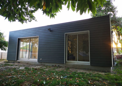 Extension ossature bois – Vigneux de Bretagne
