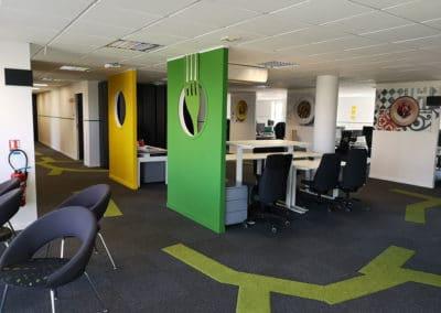 Relooking de bureaux – Nantes centre ville