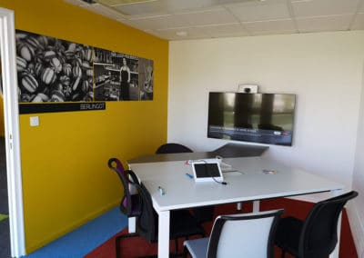 Relooking de bureaux d'entreprise